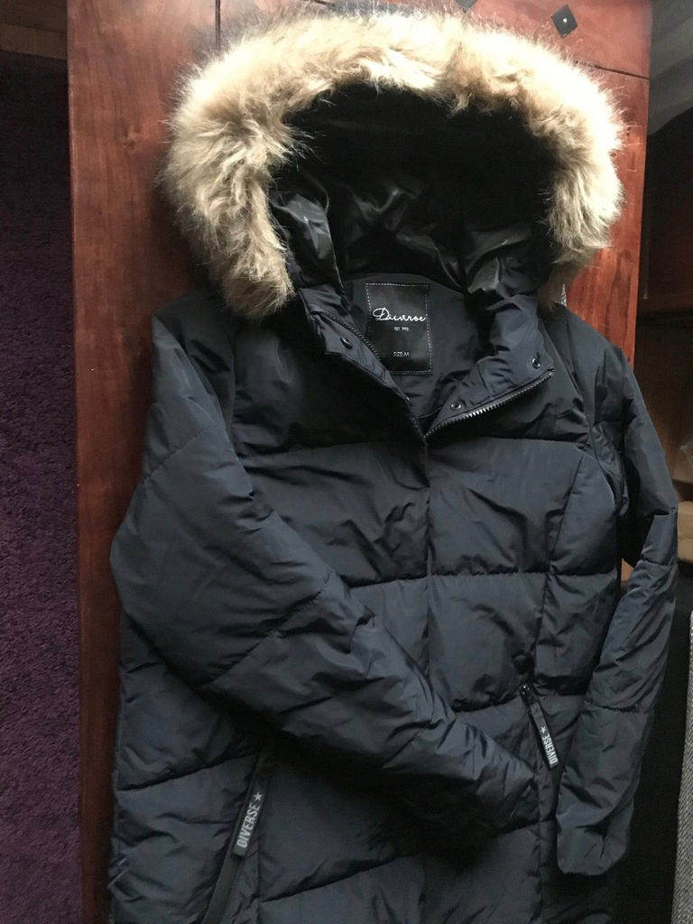 DIVERSE długa kurtka pikowana M 38 nowa