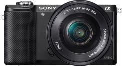 Sony Alpha a5000 (ILCE-5000L) + 16-50 mm (czarny @