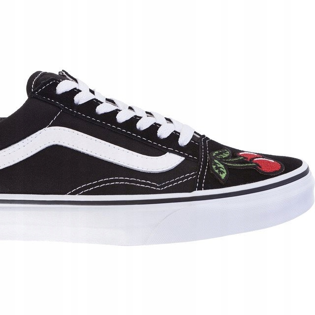 TRAMPKI VANS OLD SKOOL Y28 RED CHERRY r.38,5