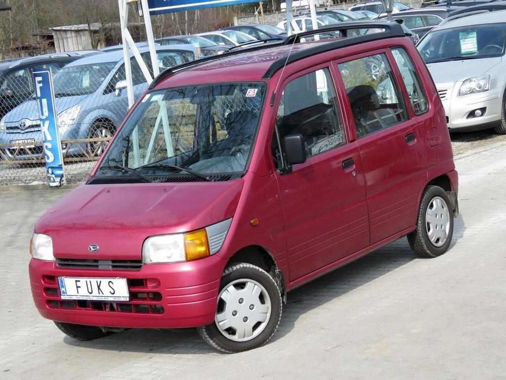 Daihatsu Move -60.tys.km Przebiegu-Jeden Właścic