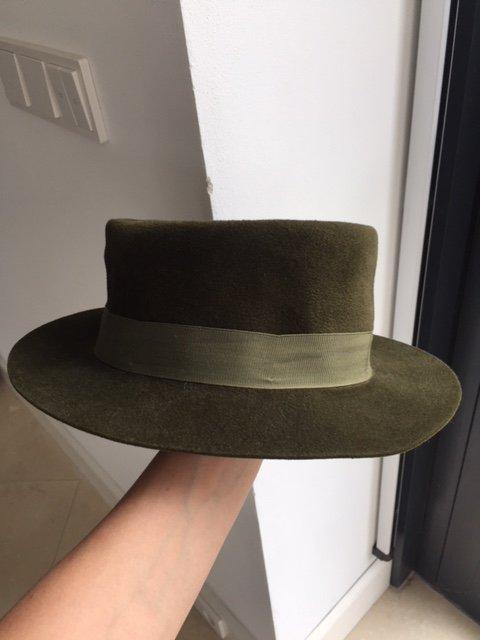 Boho kapelusz Zara vintage