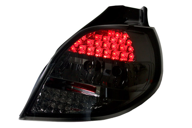 Lampy LED Clio 3 Smoke