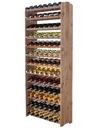 Regał na wino stojak półka RW-3-91 kolor PREZENT