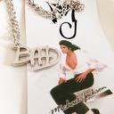 Wisiorek MJ Bad Michael Jackson mega jedyny !