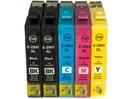 5x TUSZ EPSON T2991 XP235 XP332 XP335 XP432 XP435