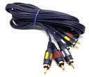 Przyłącze kabel CHINCH 3x RCA 15m F.VAT