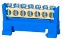 Listwa zerowa zaciskowa LZ 7/Niebieska PAW00012