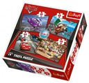 Wyruszymy w podróż - Puzzle 4w1 TREFL 34107 Płeć Chłopcy Dziewczynki