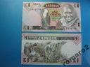 Zambia Banknot 1 Kwacha 1980-88 P-23 UNC Orzeł