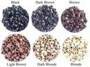 Ringi Microringi S M i L 100szt różne kolory gwint