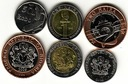 NIGERIA zestaw 3 monet