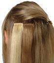 Dopinki włosy naturalne CLIP ON IN 50cm doczepiane
