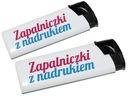 Zapalniczki z kolorowym nadrukiem 100 szt CMYK HQ