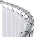DRĄŻEK prysznicowy ŁUKOWY 80x80 POLSKI mocny alumi