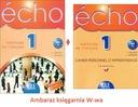 Echo 1 podręcznik + ćwiczenia+CD A1-A2 CLE kpl Wwa