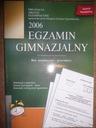 EGZAMIN GIMNAZJALNY 2006 ARKUSZE GREG