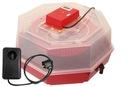 Inkubator klujnik na 60 jaj LCD+HIGRO + OWOSKOP!