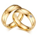 GOLD PLATED 18 k TRAURINGE 316 l STAHL-PAAR