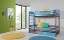 Łóżko łóżka piętrowe 2 osobowe NATU II