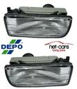 FOG LIGHTS BMW E36 LIMOUSINE CABRIO 36 E CLEAR 91-98