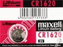 1x BATERIA LITOWA MAXELL CR1620 1620 DL ECR B5
