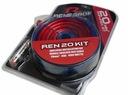 Zestaw REN20KIT kabli do wzmacniacza 20mm2/1000W