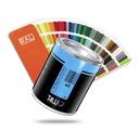 T4W lakier specjalny RAL 9016 akryl (Puszka 1L)