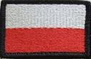 Flaga na mundur WZ MON