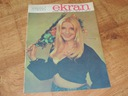 EKRAN 29/1971 E. Krakowska, R. Czekała, L Visconti