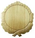 Rzeźbiona deska pod oręż dzika - DĄB 12cm (j)