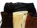 60cm CLIP IN Naturalne Włosy DOPINKI doczepiane 5t