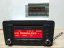 RADIO CD MP3 AUDI CONCERT A3 8P od 2003 Lift + KOD