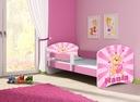 Łóżko dziecięce 140X70 + materac RÓŻOWE ACMA Płeć Chłopcy Dziewczynki