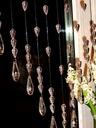 GOTOWA FIRANA kryształki koraliki makarony 100 cm