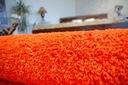 DYWAN SHAGGY 40x90 orange 5cm gładki jednolity Szerokość 40 cm