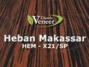 Okleina Modyfikowana Heban Makassar HEM-X21