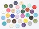 Magnesy na lodówkę guziki 1szt. 20mm 30 kolorów