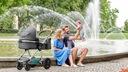 Wózek dziecięcy wielofunkcyjny Kinderkraft VEO 3w1 Typ siedziska Rozkładane