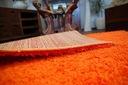 DYWAN SHAGGY 40x90 orange 5cm gładki jednolity Grubość 50 mm