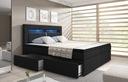 Łóżko kontynentalne MILANO 1- szuflady, 3 materace