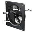 Промышленный вентилятор instagram fi400 Вытяжной