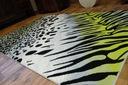 REWELACYJNY DYWAN FLASH 120x170 CĘTKI PASKI #B001 Szerokość 120 cm