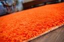 DYWAN SHAGGY 40x90 orange 5cm gładki jednolity Kształt Prostokąt