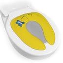 Nakładka sedesowa składana kieszonkowa WC żółta