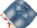 Włoska jeansowa frędzle jeans typ by o la dla M Płeć Produkt damski