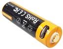 AKUMULATOR FENIX ARB-L14-1600U 14500 1,5V USB 786 Waga produktu z opakowaniem jednostkowym 0.1 kg