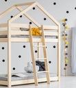 ŁÓŻKO PIĘTROWE DOMEK DREWNIANY == DZIECI MŁODZIEŻY Rodzaj łóżka łóżko domek łóżko piętrowe