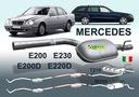 Tłumik MERCEDES E200 E230 E200D E220D W210 S210 Producent części Imasaf