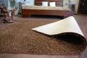 DYWAN SHAGGY 70x100 brąz 5cm gładki jednolity Długość 100 cm