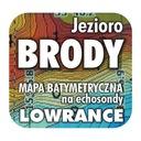 Jezioro Brody mapa na echosondy Lowrance Simrad BG